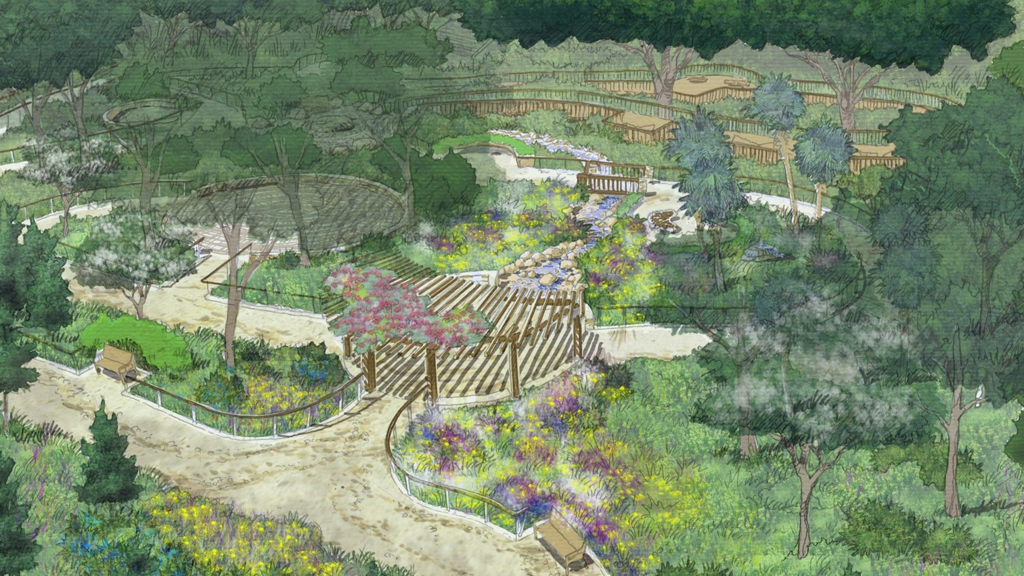Adu Helps Develop Serenity Garden At Wekiwa Springs State Park