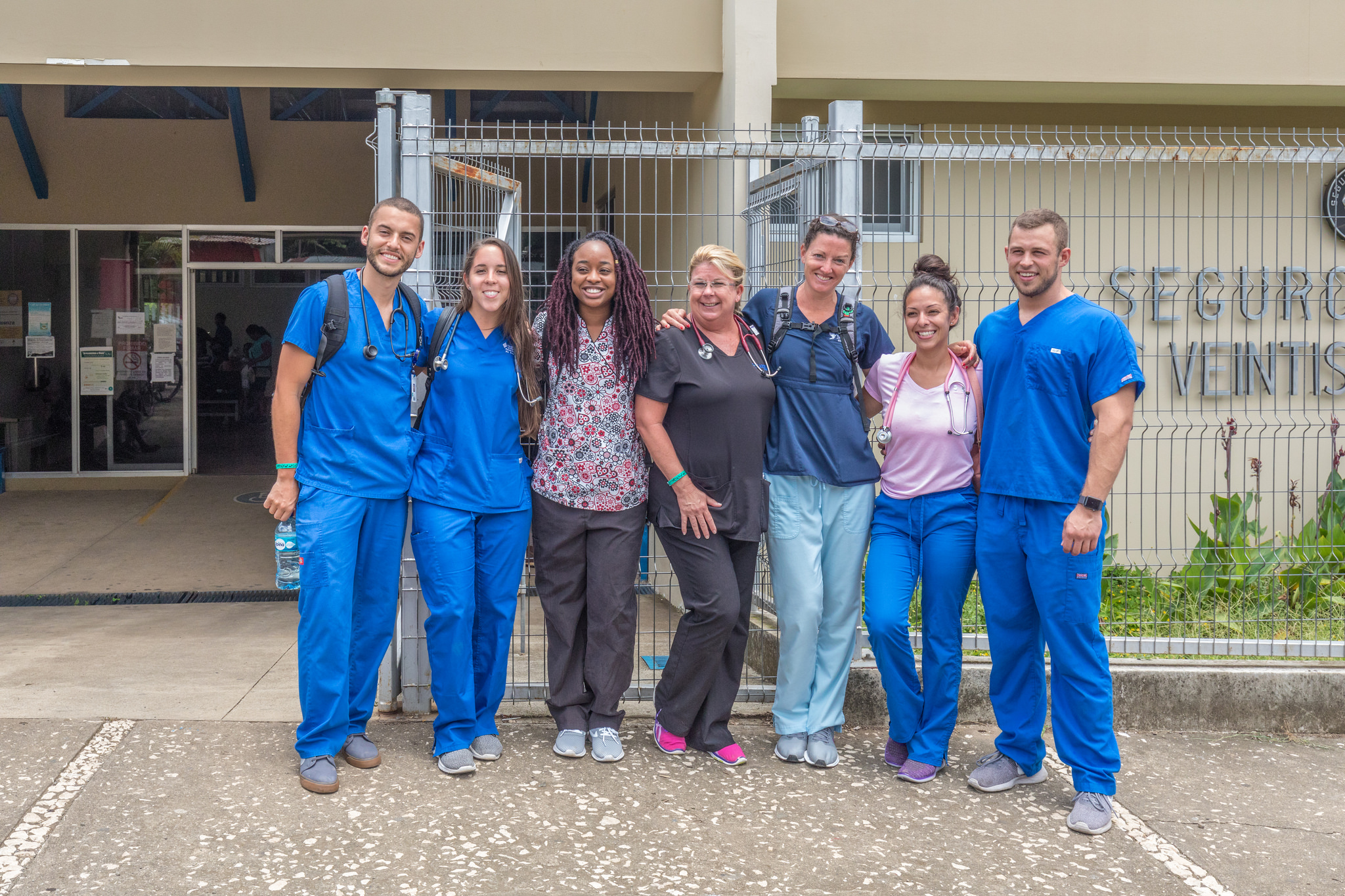 ADU students in Costa Rica