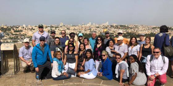 ADU Students in Jerusalem